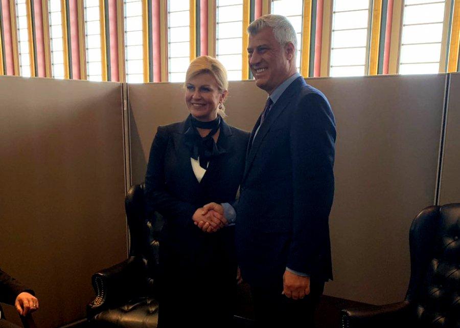 Thaçi takohet me Kitaroviqin: Kroacia, shembull që Kosova duhet ta ndjekë drejt anëtarësimit në NATO dhe BE