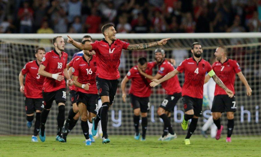 Shqipëria fiton me goleadë ndaj Islandës