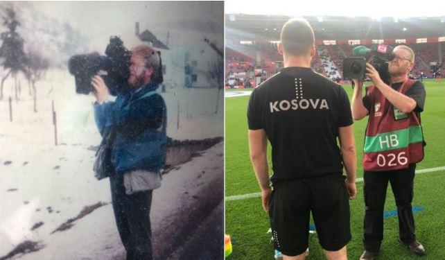 Kameramani anglez: 1997 në vijën e frontit, 2019 me kombëtaren e Kosovës