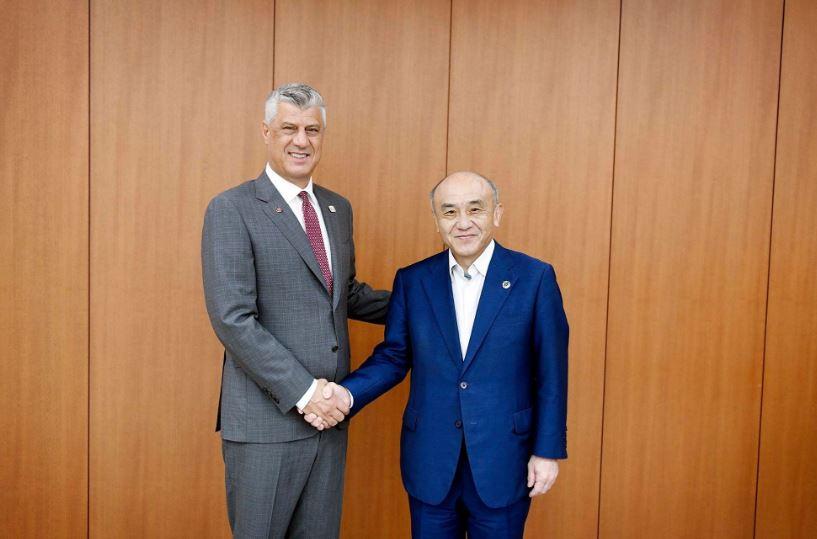 Thaçi: Kosova një vend ideal për investimet japoneze