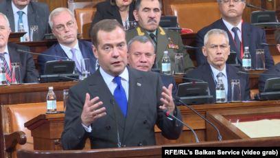 Medvedev kërkon bashkëpunim ekonomik me Serbinë