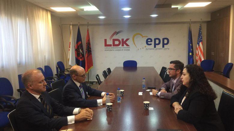 """""""LDK e gatshme për vazhdimin e dialogut Kosovë-Serbi drejt një marrëveshjeje përfundimtare"""""""