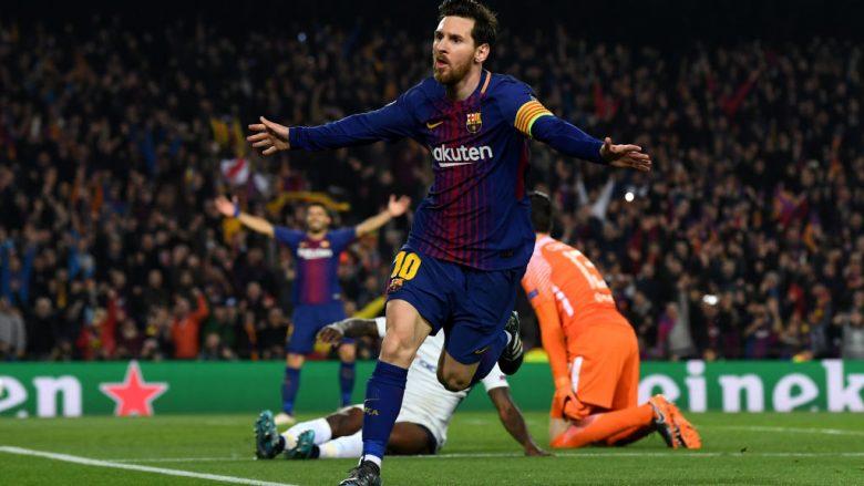 Messi me kontratë të re te Barcelona
