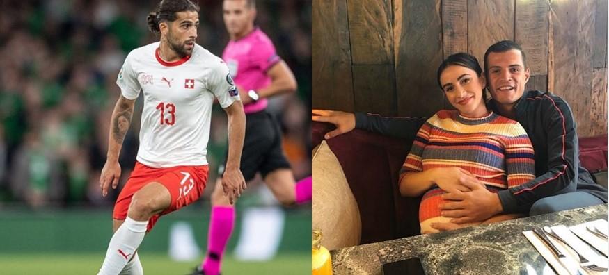 Rodriguez i bën dhurata vajzës së porsalindur të Granit Xhakës