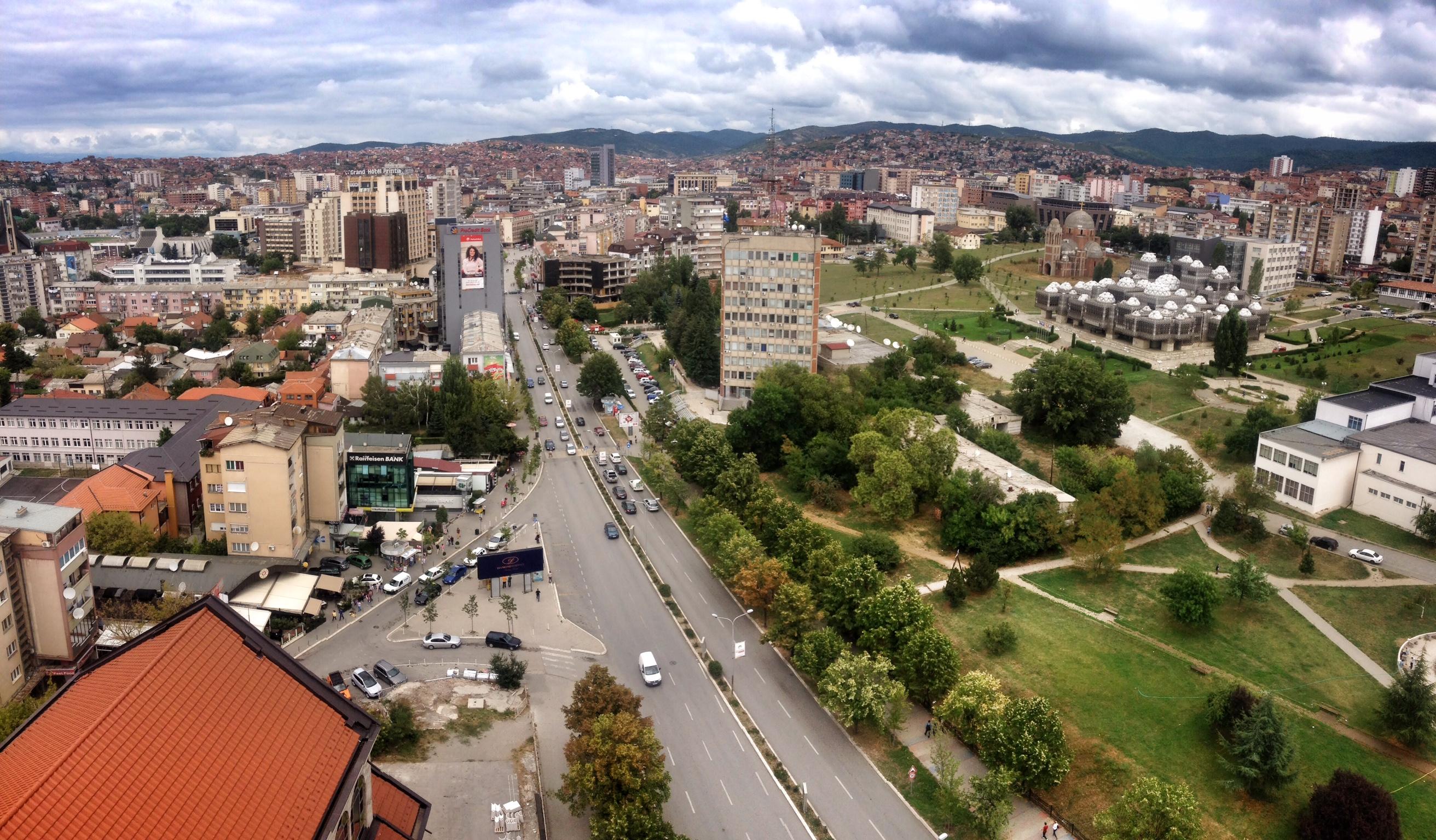 Tunel në qendër të Prishtinës