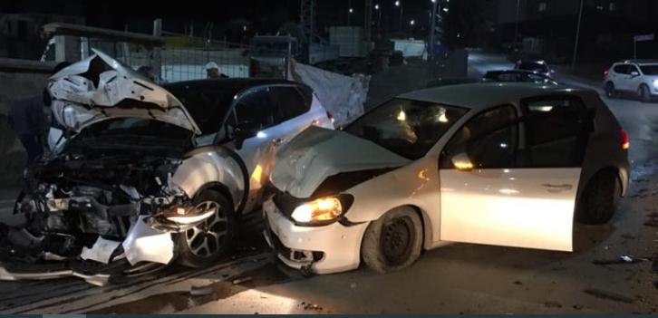 Aksident trafiku në Fushë Kosovë – dy të lënduar