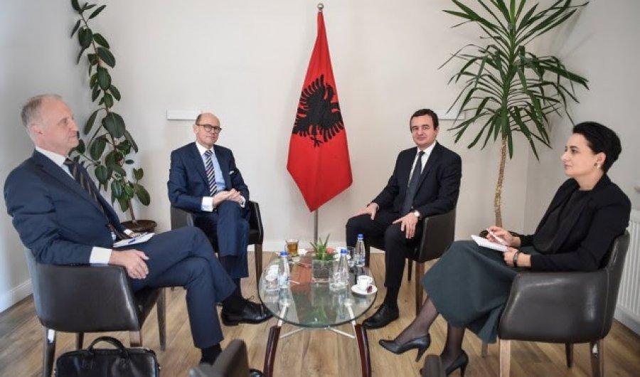"""MPJ e Serbisë """"e dënon ashpër"""" takimin e Albin Kurtit me diplomatët norvegjezë"""