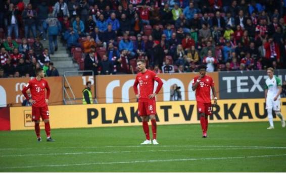 Bayerni pëson në momentet e fundit të ndeshjes