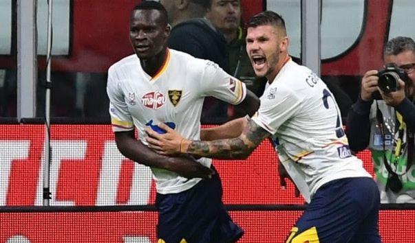 """Calderoni trondit Milan-in, Lecce fiton një pikë të madhe në """"San Siro"""""""
