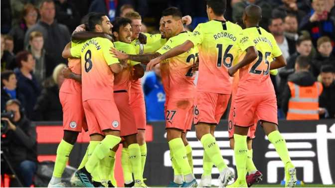 Manchester City triumfon ndaj Crystal Palace