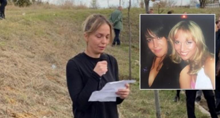 Fjalimi prekës i Teuta Krasniqit në varrimin e Arzana Krajës