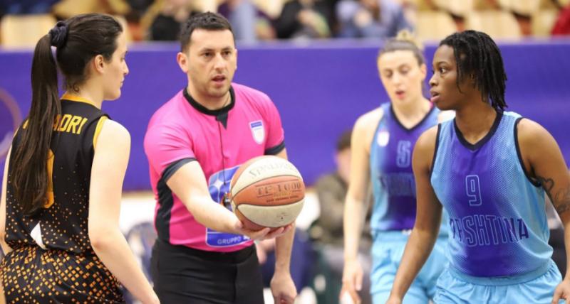 Gjyqtari nga Kosova do të ndajë drejtësinë në ndeshjen e FIBA EuroCup Women