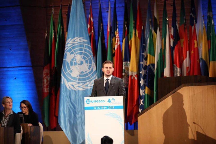 Cakaj: Shqipëria do të vazhdojë punën e pakursyer për anëtarësimin e Republikës së Kosovës në UNESCO
