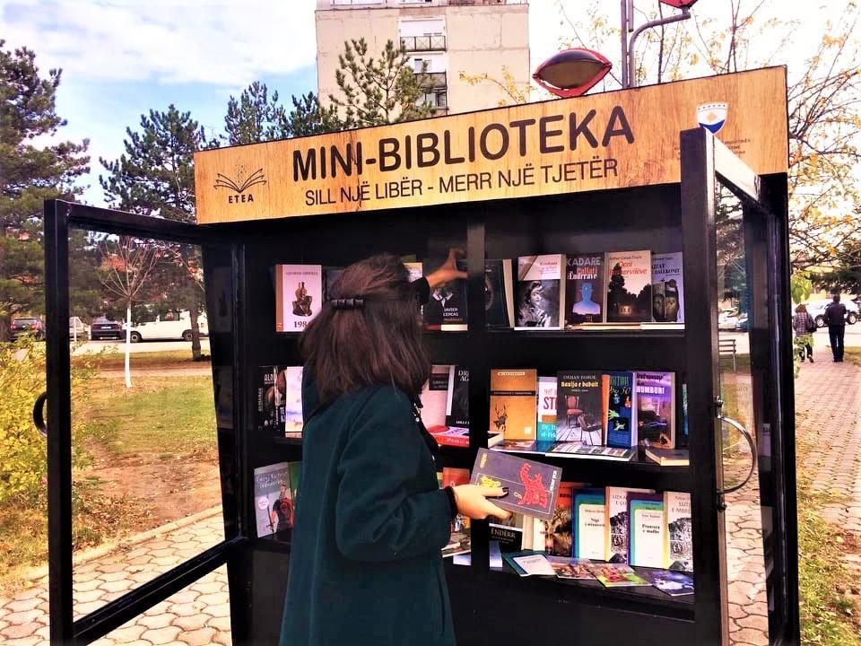 Prishtinës i shtohen edhe tri minibiblioteka