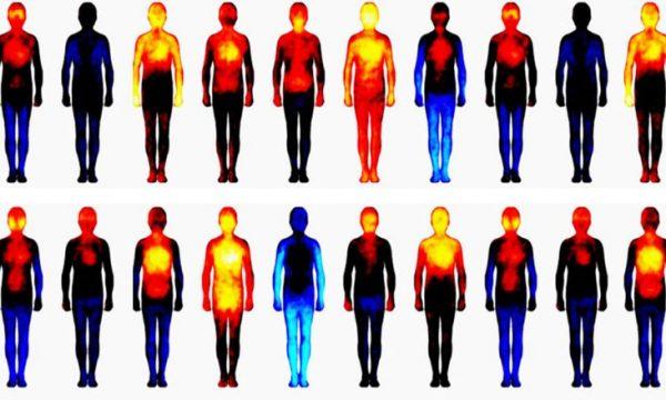 Në cilat pjesë të trupit përjetoni emocionet më të mëdha kur bini në dashuri?