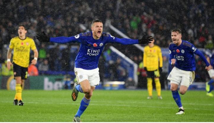 Leicesteri mund me lehtësi Arsenalin në Premier Ligë