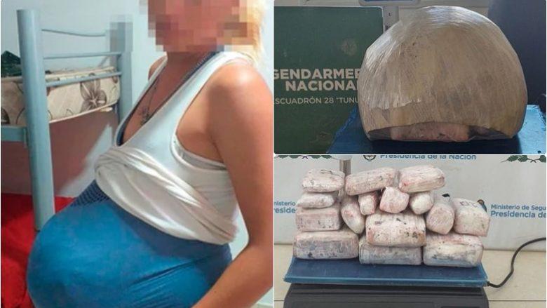 Shtiret se është shtatzënë, kapet gruaja duke kontrabanduar lëndë narkotike