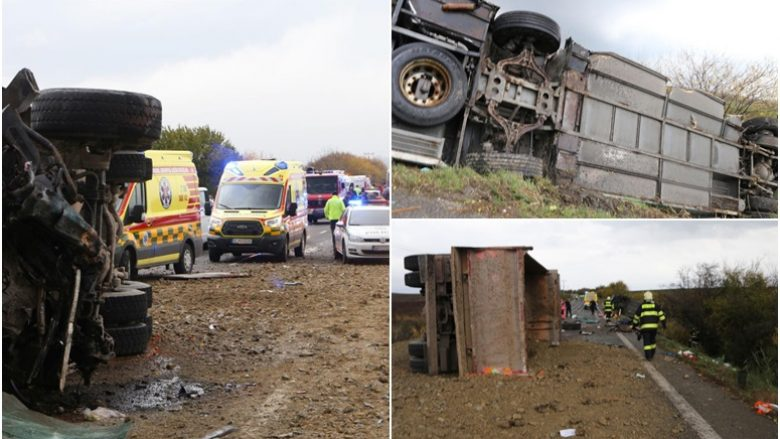 Autobusi shkollor përplaset me një kamion, humbën jetën 12 persona në Sllovaki