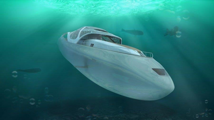 Projekti i së nesërmes, jahti luksoz që bëhet nëndetëse