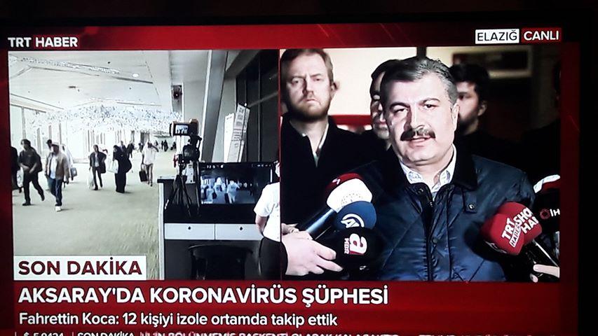 Dyshohet se 12 persona janë të prekur me koronavirus edhe në Turqi