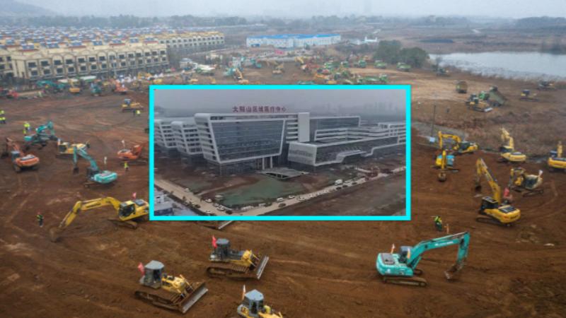 Në Kinë nis dhe përfundon spitali brenda 48 orëve
