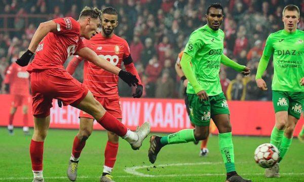 Vojvoda shënën një gol të bukur në Belgjikë
