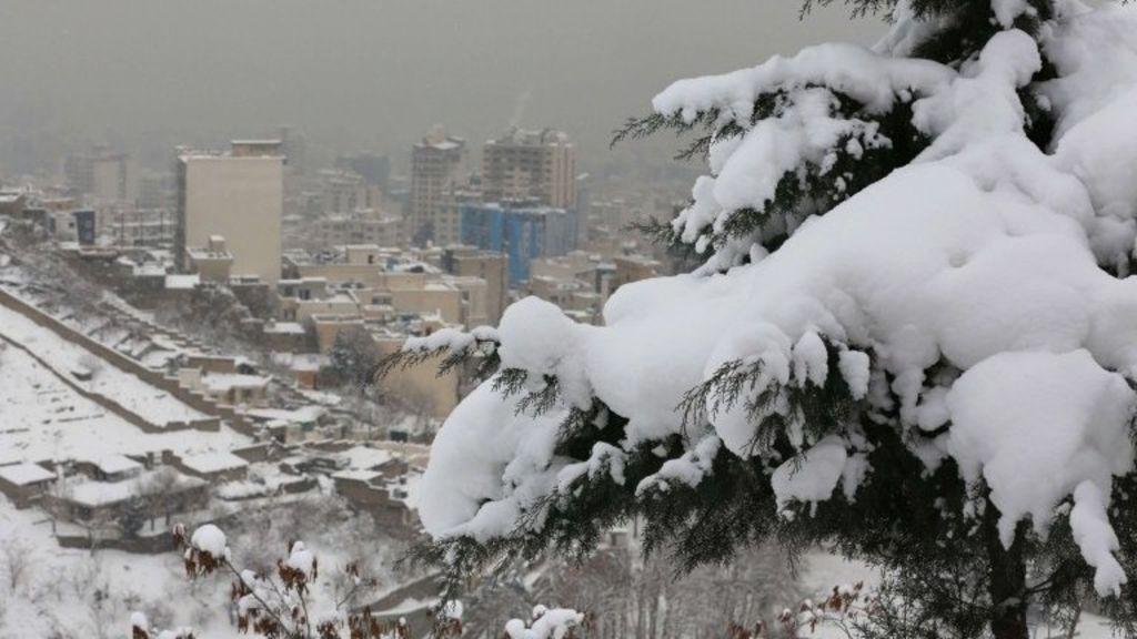 Borë në Iran, Teherani regjistron reshje rekord