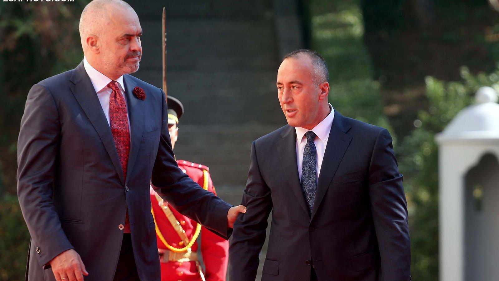 Thellohen akuzat Haradinaj-Rama: Ka qenë shtytësi kryesor i ndarjes së Kosovës