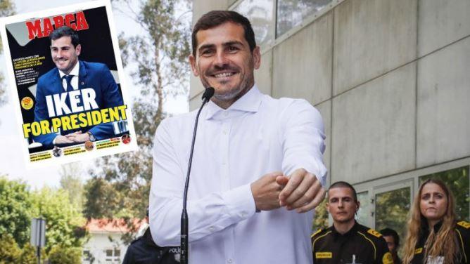 Casillas do të kandidojë për president të Federatës Spanjolle të Futbollit