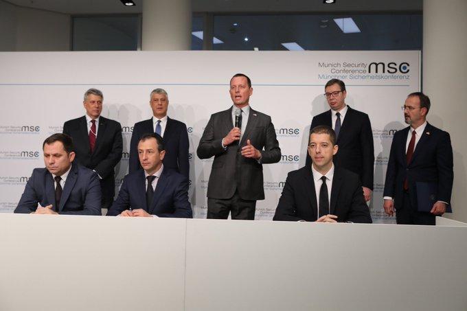 Ambasada e SHBA-së në Gjermani e cilëson historike marrëveshjen për linjën hekurdhore