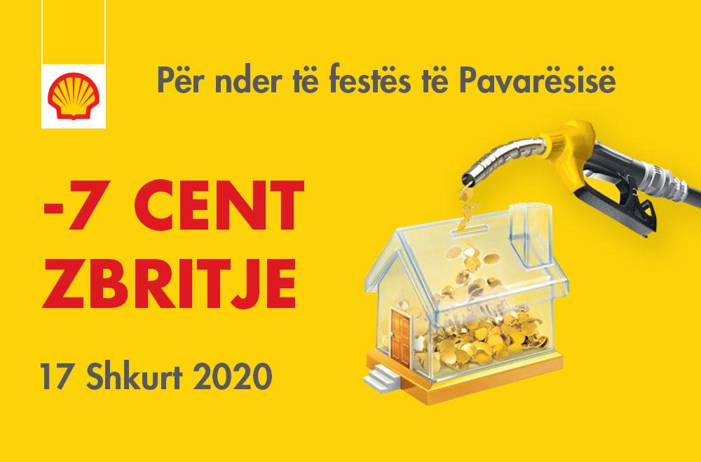 Shell Kosova për nder të Ditës së Pavarësisë ofron zbritje -7 cent me 17 shkurt