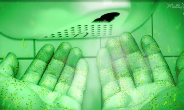 Tharëset e duarve në tualete konsiderohen rrezik shëndeti publik