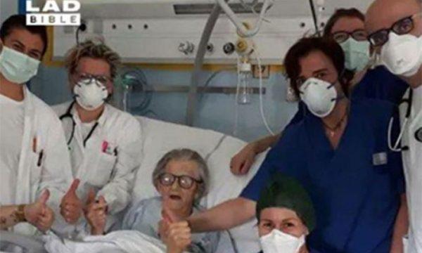 Shpresë për të infektuarit: 95 vjeçarja në Itali e mund koronavirusin