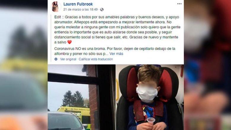 """""""Mami a do të vdes"""", nëna 30 vjeçare rrëfen momentin kur i biri pesë vjeçar u infektua me koronavirus"""