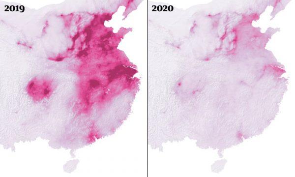 Koronavirusi po e sjell një të mirë – pastrimin e ajrit në botë