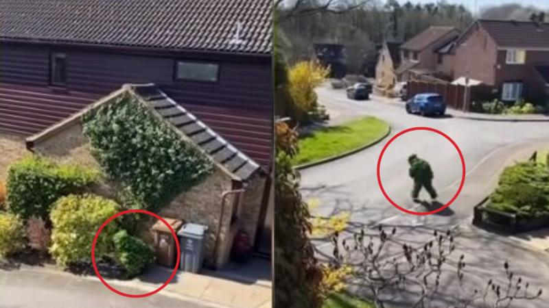 Burri tenton në këtë mënyrë të dal nga shtëpia: Videoja e tij qesharake bëhet virale