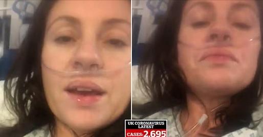 """""""Mos lini gjë në dorë të fatit"""", mesazhi i 39 vjeçares që mezi merr frymë nga koronavirusi në spital"""