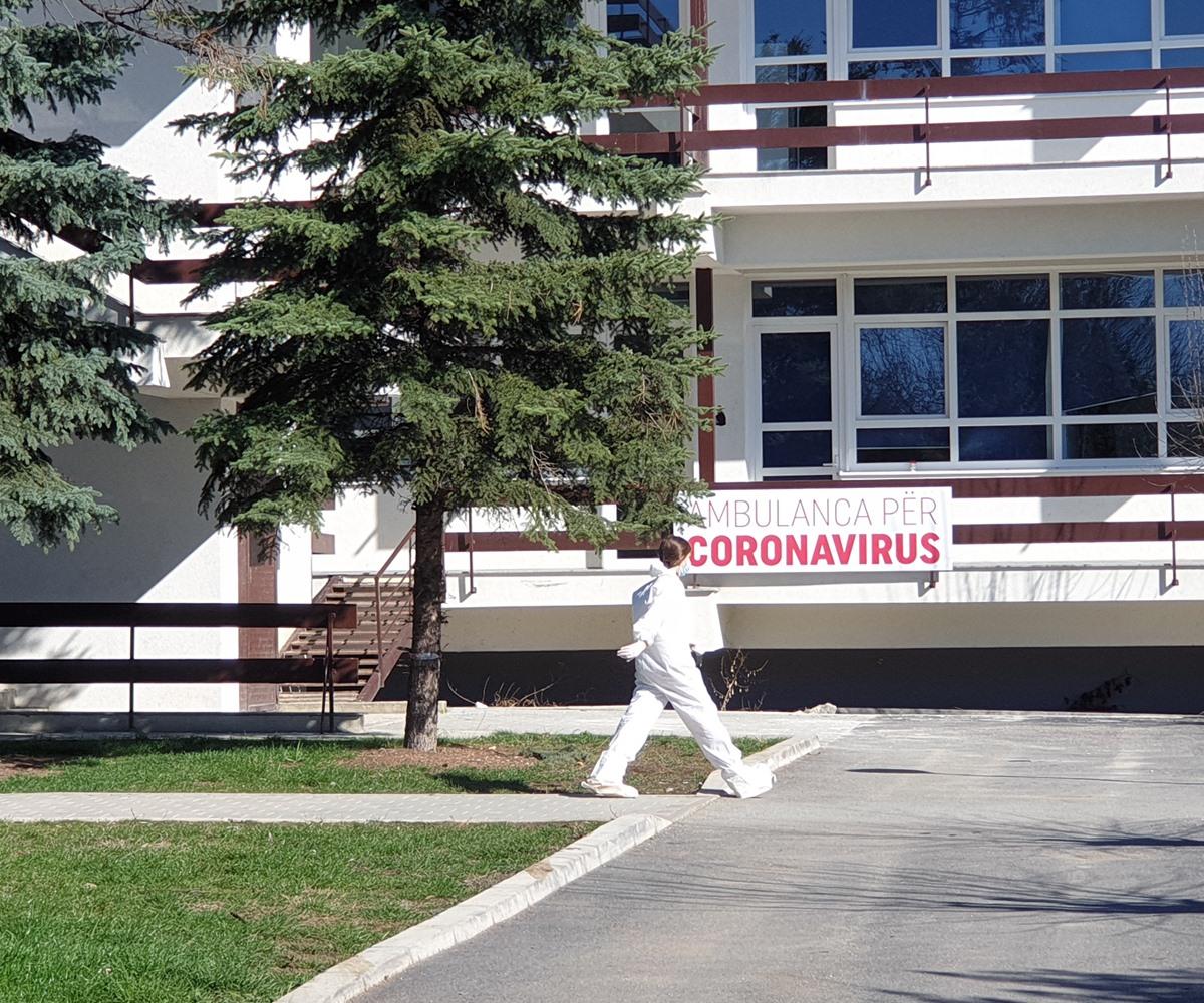 480 pacientë të shtrirë me koronavirus, 45 në gjendje kritike