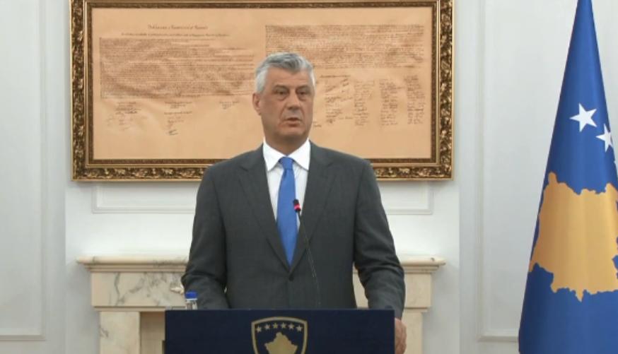 Thaçi pret ambasadorët e Quintit pak minuta pasi i kërkoi LDK-së kandidatin për kryeministër