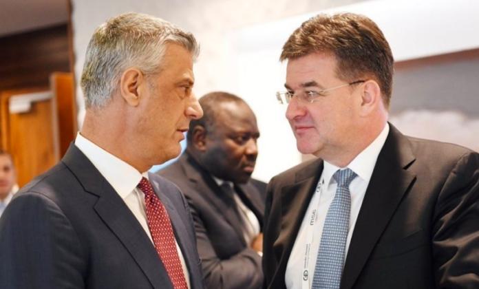 Lajçak i dërgon letër Thaçit për dialogun: Nuk e përmend njohjen nga Serbia