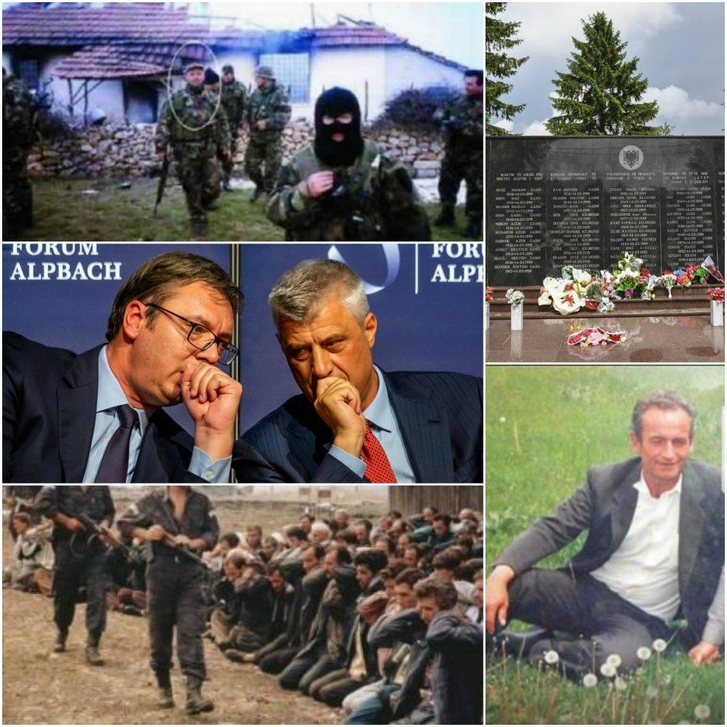 Masakrat e harruara në Zahaq, Llabjan dhe Pavlan dhe vizita e Thaçit në Gorazhdevc tek serbët