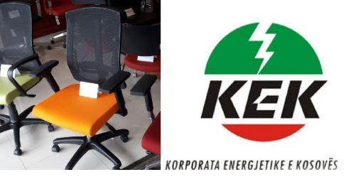 KEK bleu karriga lëvizëse dhe statike, kaq para i kushtoi tenderi