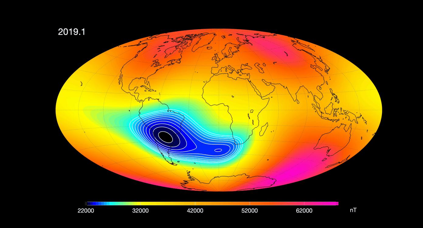 Zbulimi tronditës: Fusha magnetike e Tokës po dobësohet, ja pasojat