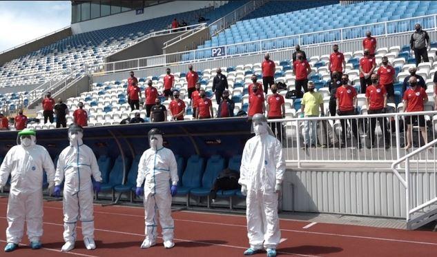 Gjyqtarët kosovarë të gatshëm për rifillimin e ndeshjeve të Superligës