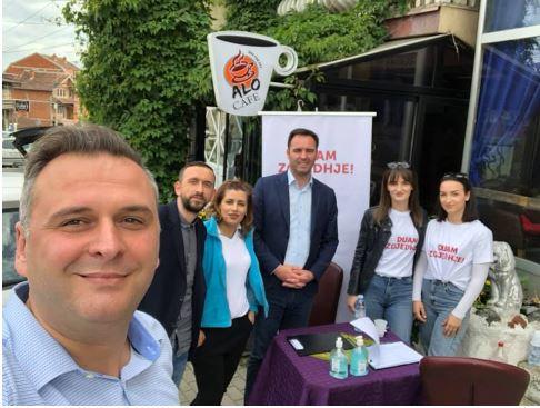 Konjufca dhe Mefaili i VV-së inkurajojnë qytetarët të nënshkruajnë peticionin