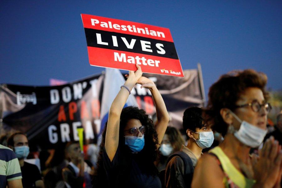 Protesta në Izrael kundër planit të Netanyahut për aneksim