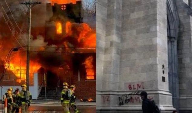 Zjarr para Shtëpisë së Bardhë, digjet kisha presidenciale në Uashington