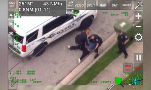 Tjetër rast: Polici në Florida ia vendos gjurin në qafë një afro-amerikani gjatë tentimit për ta arrestuar