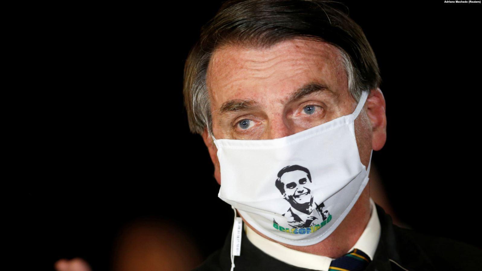 Presidenti i Brazilit infektohet me koronavirus