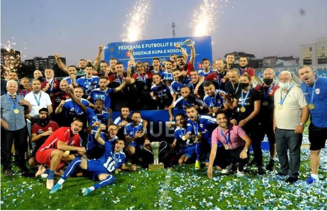 Ballkani tregohet skuadër Evropiane, uron Prishtinën për titullin